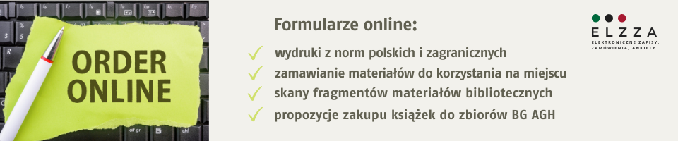 Baner - Formularze zamówień