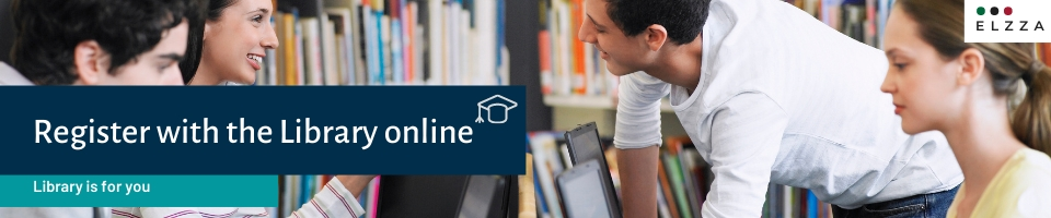 register with the Library online